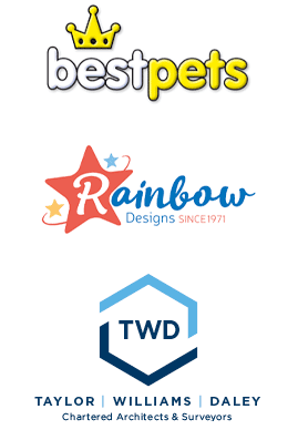 Logo designs by TCT