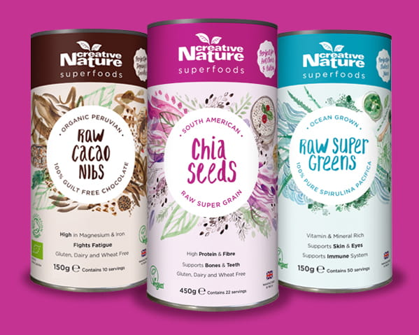 Creative Nature Superfoods selection